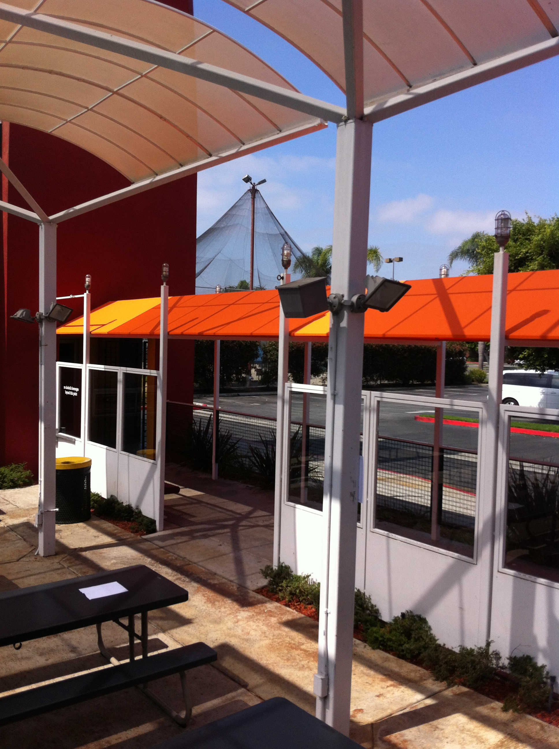 Free Standing Patio Awnings Made In The Shade Awnings