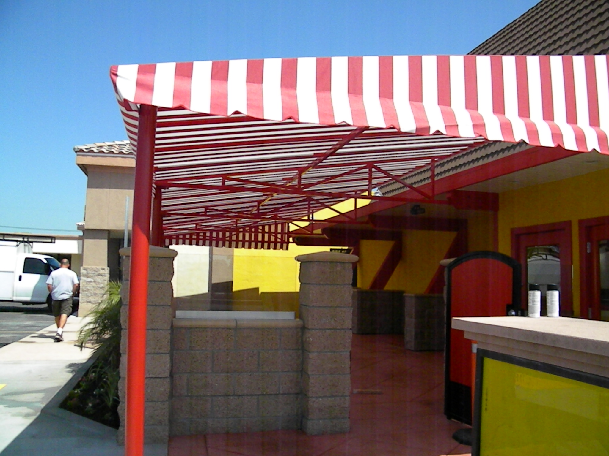Commercial Awnings Made In The Shade